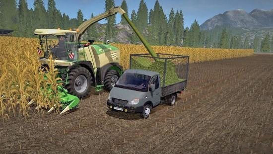 Газель 3302 v0.9 для Farming Simulator 2017
