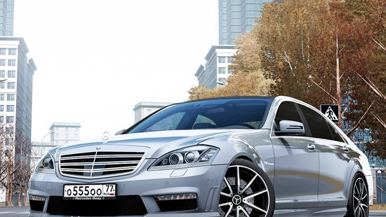 Mersedes Benz S65 W221 AMG для City Car Driving 1.5.1 - 1.5.2