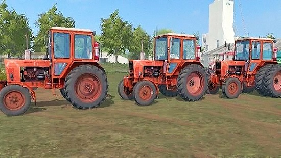 МТЗ 80 и МТЗ 82 V1.1 для Farming Simulator 2017