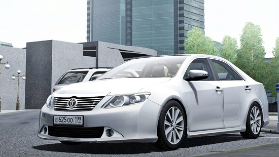 Toyota Camry V50 3.5L 2015 для City Car Driving 1.5.1, 1.5.2, 1.5.3