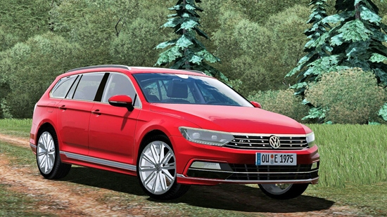 2016 Volkswagen Passat Wagon R-Line для City Car Driving 1.5.1-1.5.3