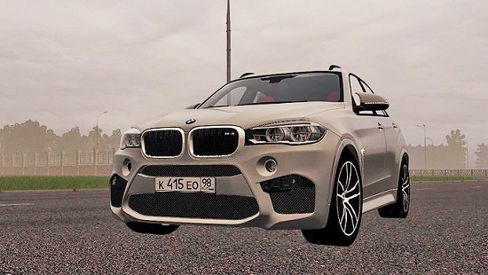 BMW X6M Bulkin Edition для City Car Driving 1.5.1-1.5.3