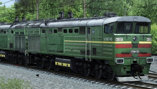 Тепловоз 2ТЭ10м-2437 v0.2(26.03.18) для Train Simulator 2018