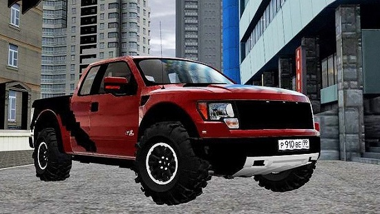 Авто Ford F-150 SVT Raptor City Car Driving 1.5.2 - 1.5.4