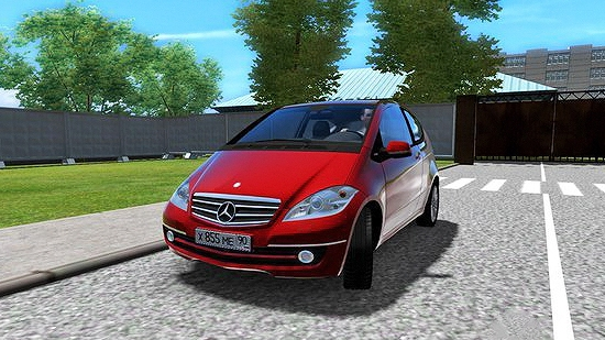 Mercedes-Benz A200 Turbo Coupe для City Car Driving 1.5.1 - 1.5.3-1.5.4