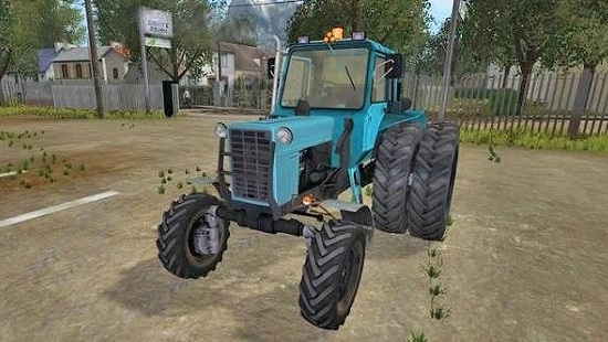 Трактор МТЗ-82 Турбо v2.0 для Farming Simulator 2017