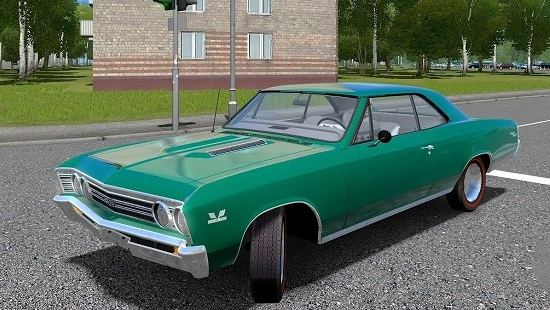 1967 Chevrolet Chevelle SS 396 для City Car Driving 1.5.1-1.5.4