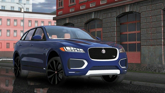 Автомобиль Jaguar F-Pace для City Car Driving 1.5.1 - 1.5.4