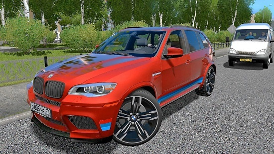 Мод BMW X5M Performance(Ver2) для City Car Driving 1.5.4