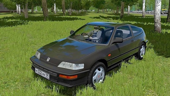Мод Honda CR-X для City Car Driving 1.5.1-1.5.4