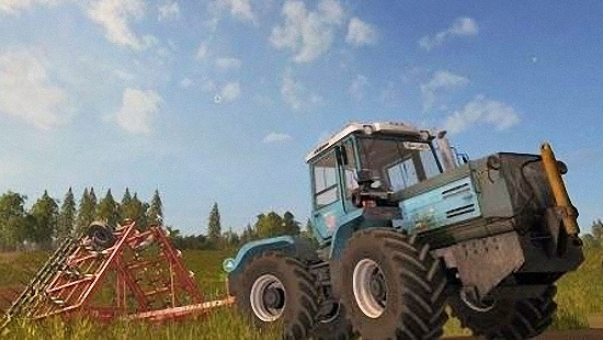 Трактор ХТЗ T-150 09 25 ДЛЯ FARMING SIMULATOR 2017