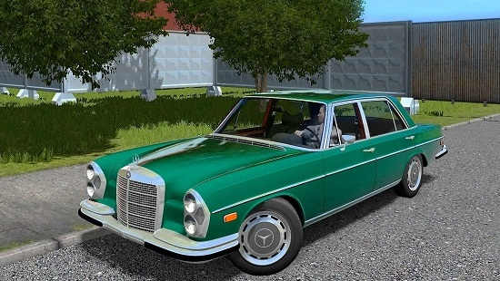 Машина Mercedes Benz 300SEL для City Car Driving 1.5.4