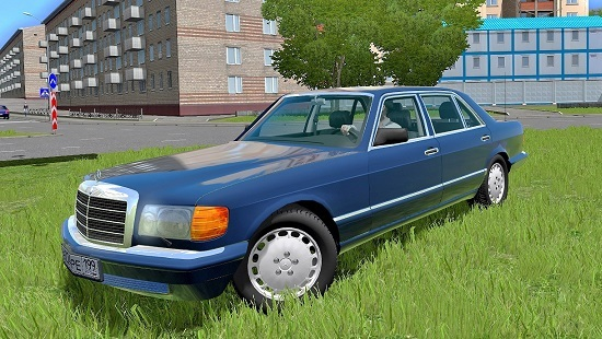Мод Mercedes Benz 560SEL Mod With Sound для CCD 1.5.4