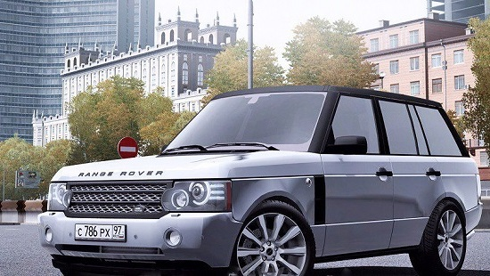 Машина Range Rover для City Car Driving 1.5.1 - 1.5.4