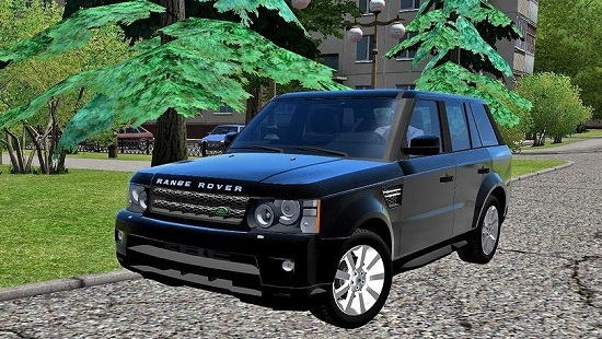 Автомобиль Range Rover Sport для City Car Driving 1.5.1 - 1.5.4