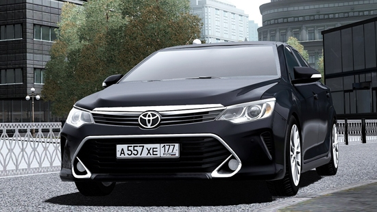 Мод Toyota Camry V55 3.5L 2015г. для City Car Driving 1.5.1 - 1.5.4
