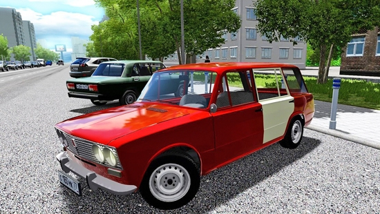Автомобиль ВАЗ 21023 для City Car Driving 1.5.0-1.5.4