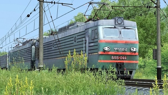 Электровоз ВЛ15-044 для Train Simulator 2017