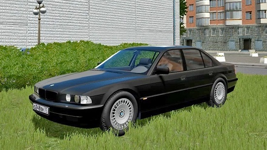Машина BMW 750IL Бумер для City Car Driving 1.5.5
