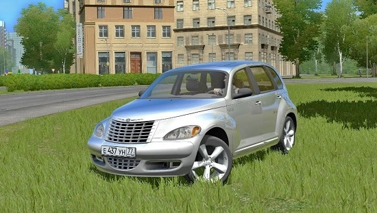 Машина Chrysler PT Cruiser для City Car Driving 1.5.2-1.5.6