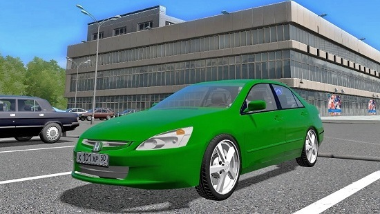 Мод Honda Accord V6 2004 для City Car Driving 1.5.6