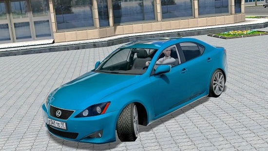 Машина Lexus IS350 v2.0 для City Car Driving 1.5.1-1.5.5