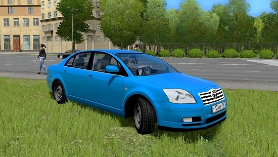 Мод Toyota Avensis v2.0 для CIty Car Driving 1.5.2-1.5.5