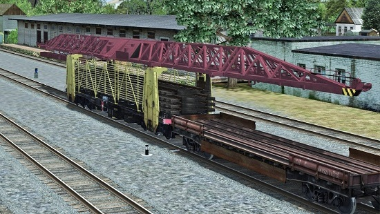 Путеукладчик УК-25 9-18 для Train Simulator 2018