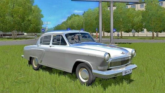 Мод Волга ГАЗ 21 для City Car Driving 1.5.1-1.5.5