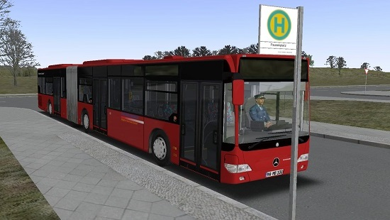 Омси 2 мод автобус MB Citaro Facelift v.1.0 Modded Omsi 2