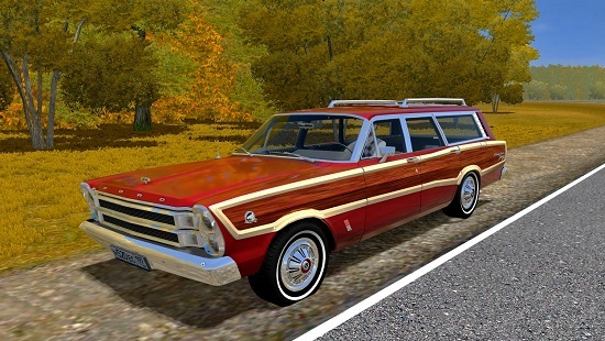 Мод Ford Country Squire для City Car Driving 1.5.1-1.5.6