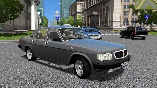 Мод ГАЗ-3110 Волга для City Car Driving 1.5.2-1.5.6