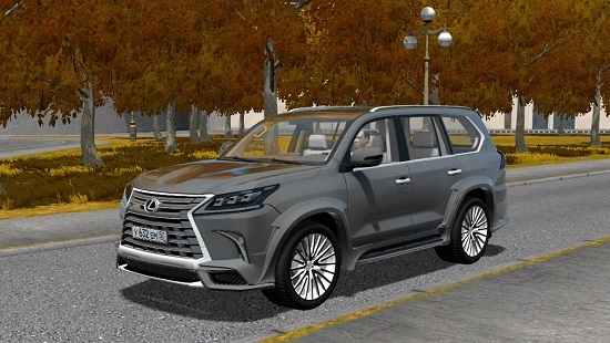 Машина LEXUS LX570 WALD для City Car Driving 1.5.0-1.5.6