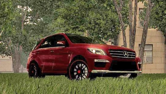 Машина Mercedes-Benz ML63 AMG 2014 для City Car Driving 1.5.7