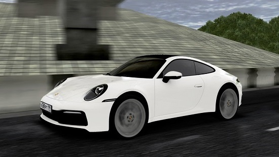 Машина Porsche 911 Carrera S (992) для City Car Driving 1.5.8