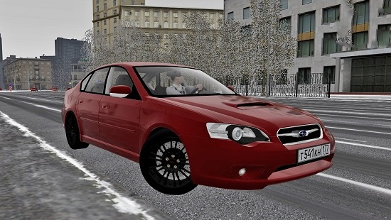 Мод Subaru Legacy B4 2.0 GT 2005 для City Car Driving 1.5.0-1.5.6