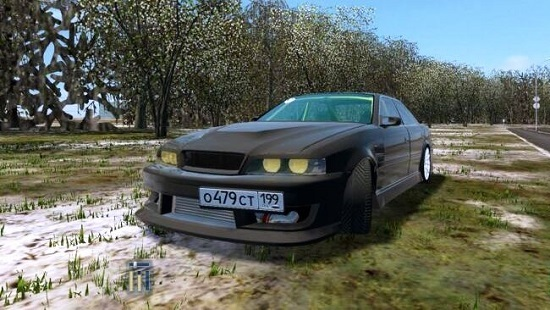 Машина Toyota Chaser Turbo JZX100 дрифт корч для City Car Driving 1.5.8