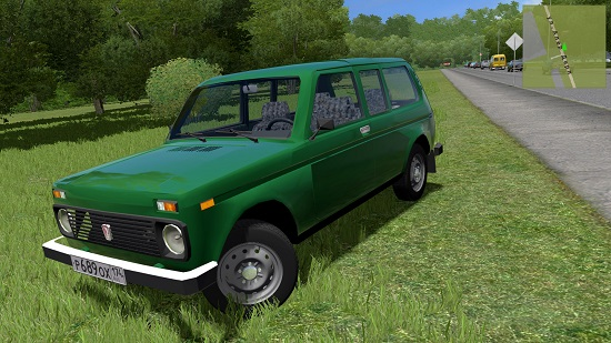 Автомобиль ВАЗ 2129 (Нива) для Сity Car Driving 1.5.2-1.5.6
