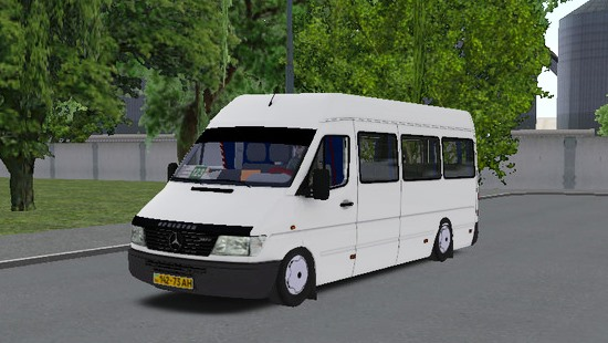 Омси 2 мод автобус Mercedes-Benz Sprinter 312D v1.0 OMSI 2