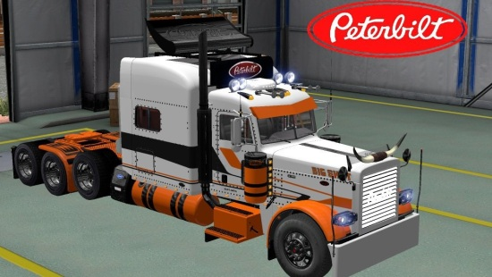 Peterbilt 389 Modified Big Shot Skin для Euro Truck Simulator 2 1.21