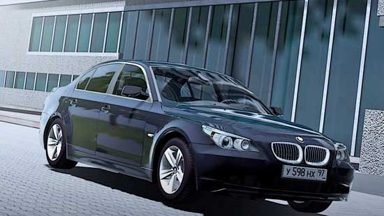 BMW 530xi E60 для City Car Driving 1.5.0
