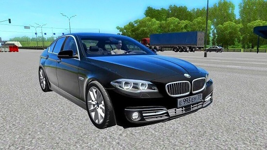 BMW 535i xDrive для City Car Driving 1.5.0