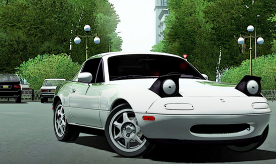 Mazda Mx-5 Miata 1994 для City Car Driving 1.5.0