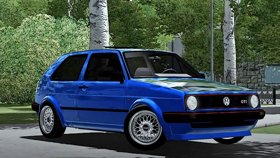VW GOLF GTI MK2 для City Car Driving 1.5.0