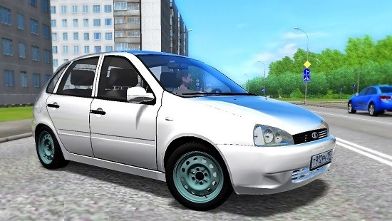 ВАЗ 1119 (Лада Калина) для City Car Driving 1.5.0