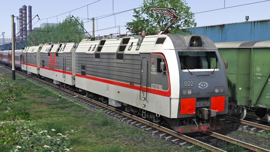 3ЭС5К-022 beta для Train Simulator 2016