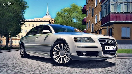 Audi A8 6.0 Long quattro для City Car Driving 1.5