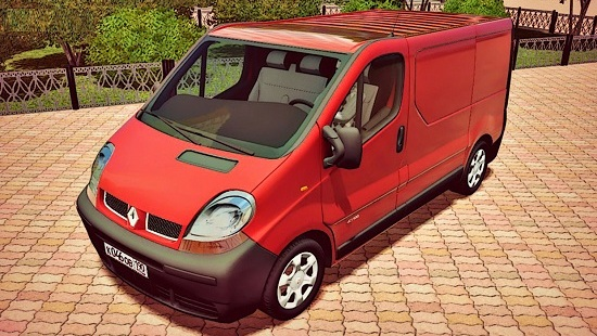 Renault Trafic 2.5 dCi для City Car Driving 1.5