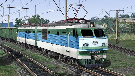 ВЛ10к-799 для Train Simulator 2016