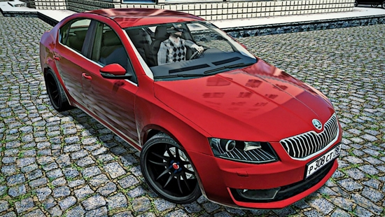 Skoda Octavia 1.8 TSI для City Car Driving 1.4,1.5